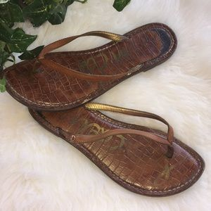 Sam Edelman Shoes - Sam Edelman Gracie flip flops Sz 8